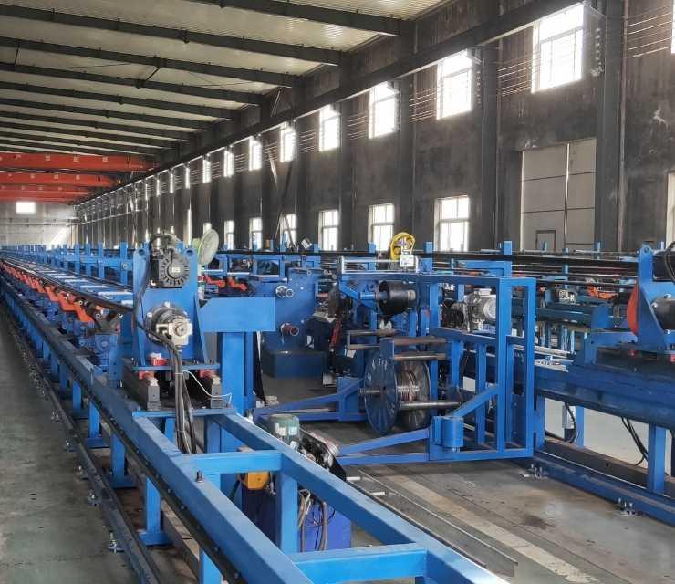 industrial hose production line